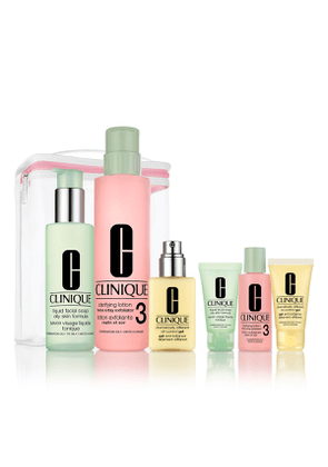 Great Skin Anywhere Set, Combination Oily to Oily ($98 Value)