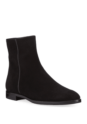Moon Suede Tall Booties