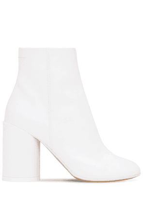 90mm Coated Cotton Blend Canvas Boots