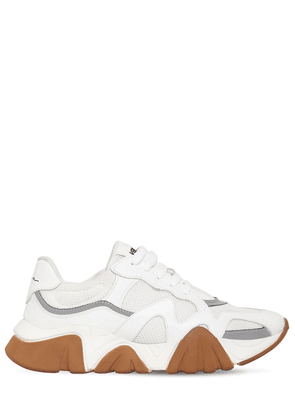Squalo Leather & Mesh Sneakers