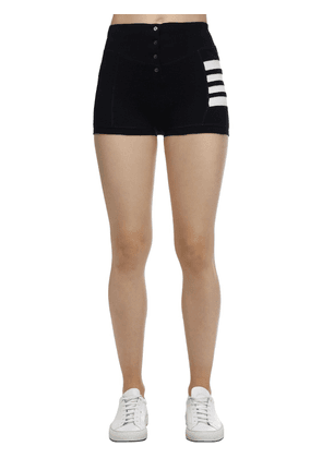 Cotton Compact Waffle Brief Shorts