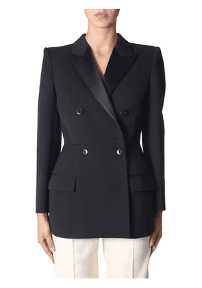 givenchy double-breasted jacket