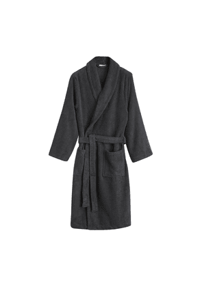 Charcoal Towelling Robe