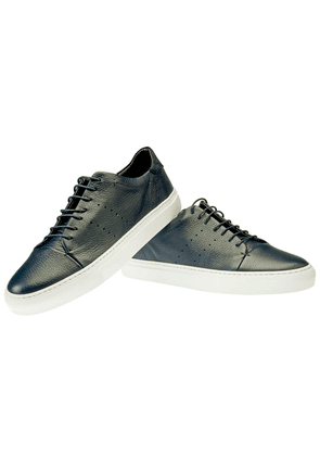 Blue Leather Andy Sneakers