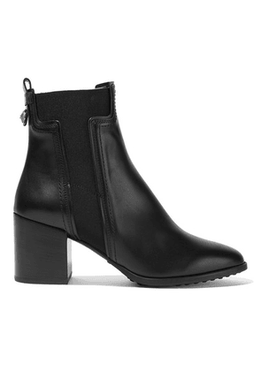 Tod's - Leather Chelsea Boots - Black
