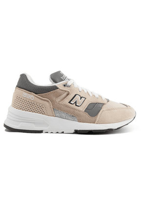 New Balance - 1530 Suede, Mesh And Leather Sneakers - Beige
