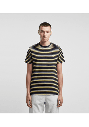 Fred Perry Striped T-Shirt - size? Exclusive, BLK/BLK