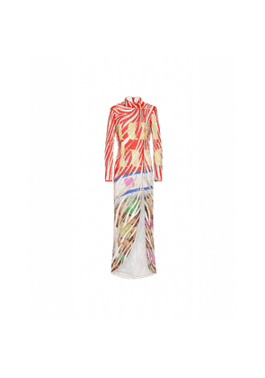 Joggers With Packaging Print And Beads