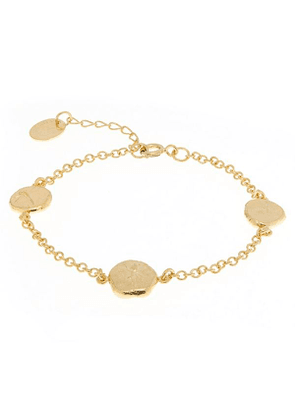 Gold-Plated Palaeontology Charm Bracelet