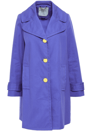 Kate Spade New York Cotton Coat Woman Lavender Size 6