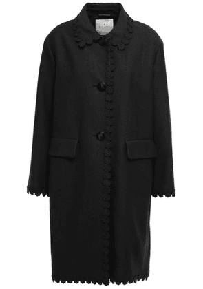 Kate Spade New York Cotton-blend Twill Coat Woman Black Size 2