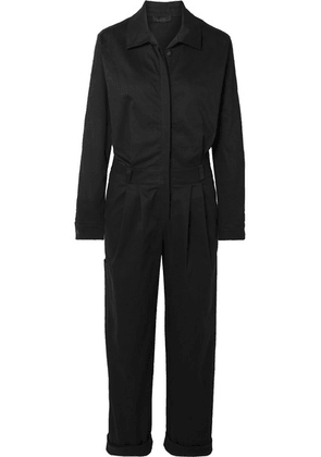 The Range - Stretch-cotton Twill Jumpsuit - Black