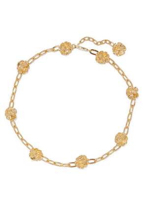 Leigh Miller - Gold-plated Choker - one size