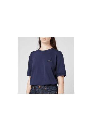 Vivienne Westwood Anglomania Women's New Classic T-Shirt Badge - Navy - XS - Blue