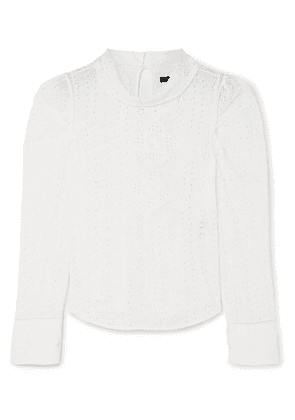 Isabel Marant - Qyandi Broderie Anglaise Blouse - White