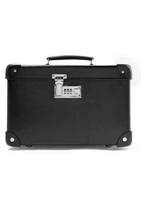 Globe-Trotter - Centenary 13' Leather-trimmed Fiberboard Vanity Case - Black
