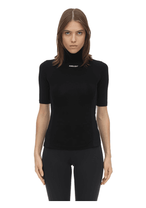 Fitted Techno Jersey T-shirt