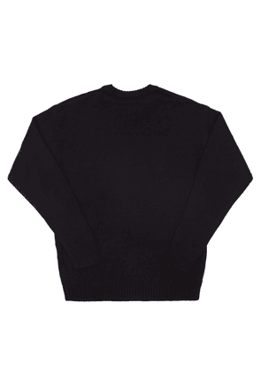 Diesel Logo-embroidered Sweater Unisex Black