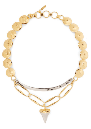 Chloé - Bonnie Gold And Silver-tone Necklace - one size
