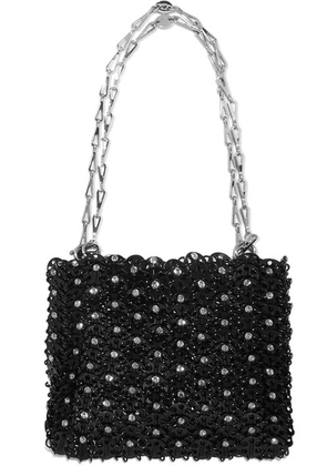 Paco Rabanne - 1969 Crystal-embellished Chainmail Shoulder Bag - Black