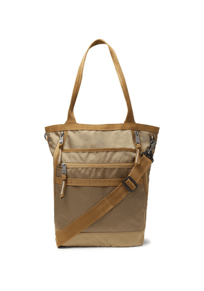 Indispensable - Snatch 2way Nylon Tote Bag - Tan