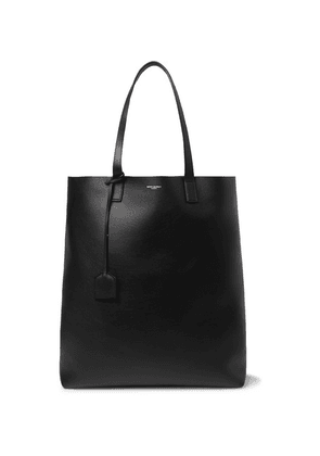 SAINT LAURENT - Leather Tote Bag - Black