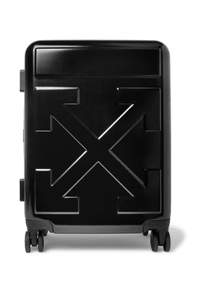 Off-White - Arrow Polycarbonate Carry-on Suitcase - Black
