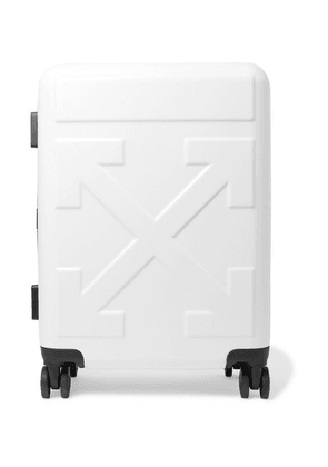 Off-White - Arrow Polycarbonate Carry-on Suitcase - White