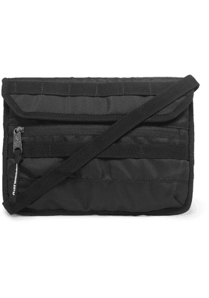 Indispensable - Canvas Messenger Bag - Black