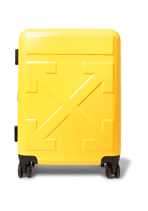 Off-White - Arrow Polycarbonate Carry-on Suitcase - Yellow