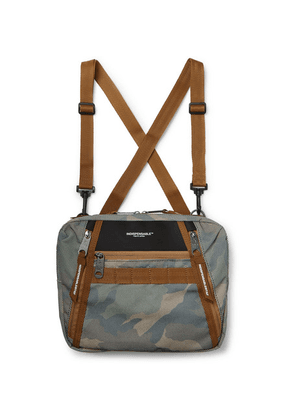 Indispensable - Padpit Camouflage-print Shell Harness Bag - Gray