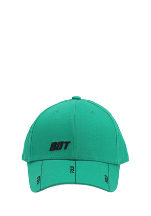 Embroidered Cotton Twill Baseball Hat