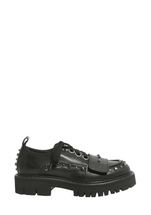 n°21 leather lace-up shoes