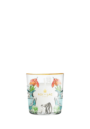 Chinoiserie Taif Rose Glass Candle