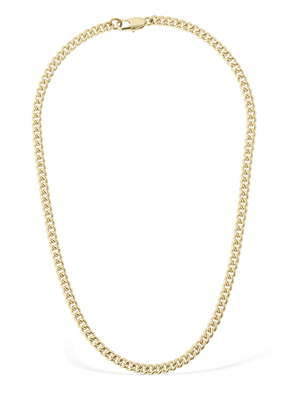 14kt Gold Plated Curb Chain Necklace