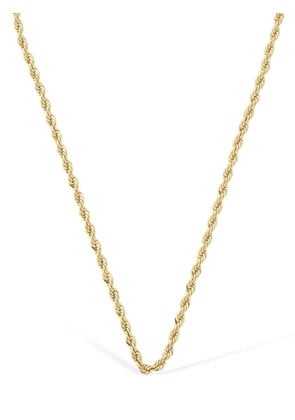 14kt Gold Plated Rope Chain Necklace