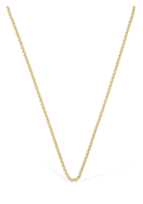 14kt Gold Plated Box Chain Necklace