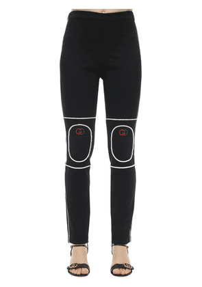 Techno Jersey Sweatpants W/ Padded Knees