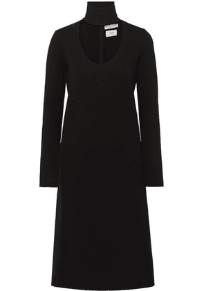 Bottega Veneta - Cutout Stretch-knit Dress - Black