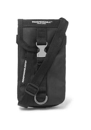 Indispensable - Tempo Canvas Messenger Bag - Black