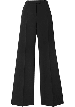 Givenchy - Wool-blend Twill Flared Pants - Black