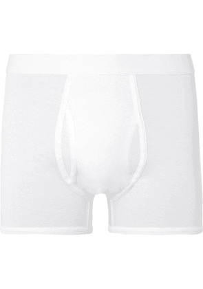 Handvaerk - Pima Cotton-jersey Boxer Briefs - White