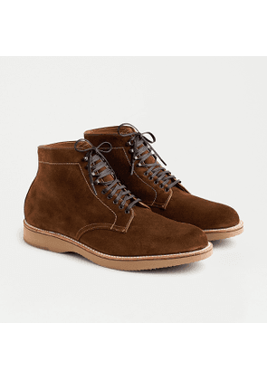 Alden® for J.Crew plain toe boots in suede