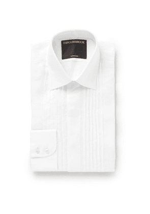 Favourbrook - Ivory Bib-front Cotton-voile Shirt - Ivory