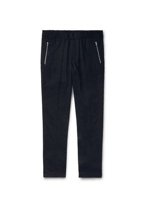 PS Paul Smith - Navy Slim-fit Wool-blend Trousers - Navy