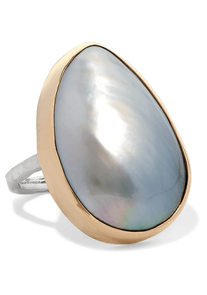 Melissa Joy Manning - 14-karat Gold And Sterling Silver Pearl Ring - 6