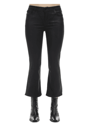 Selena Faux Leather Boot Cut Pants