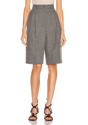 Loewe Trouser Short in Grey - Gray. Size 36 (also in ).