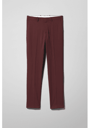 Bodie Suit Trousers - Red