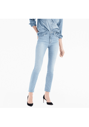 9' high-rise toothpick jean in wilkerson wash